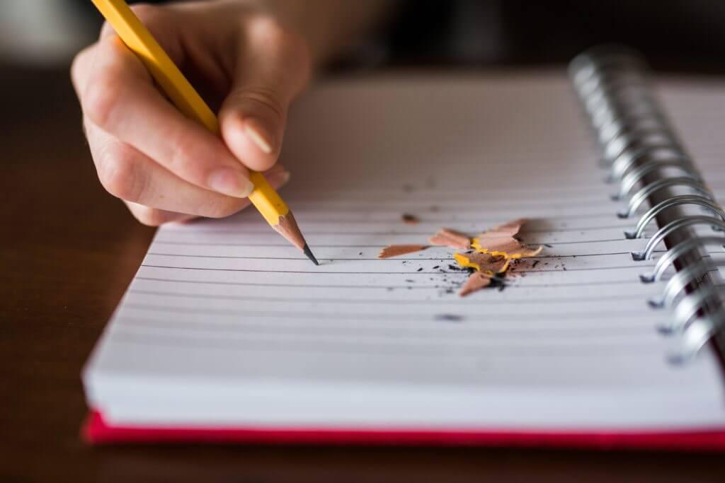 open notebook taking test