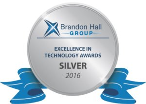 brandon hall group 2016 silver award