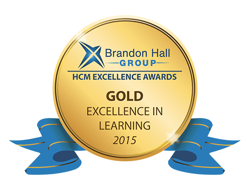 Brandon Hall Award (Gold) for Excellence in Learning